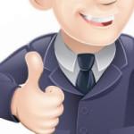 imissionaries cartoon man thumbs up! Good work